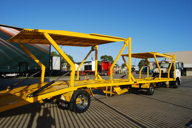 4 Car Carrier for Sale |Top Start Trailers